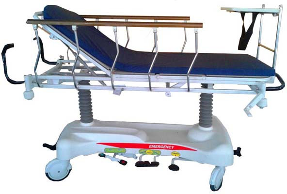 Patient Resuscitation Trolley / Hydraulic Stretcher Trolley