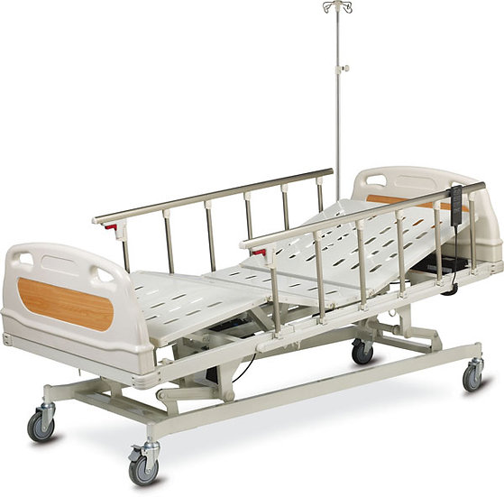 Five Function Electric Bed / Aluminum Side Rail