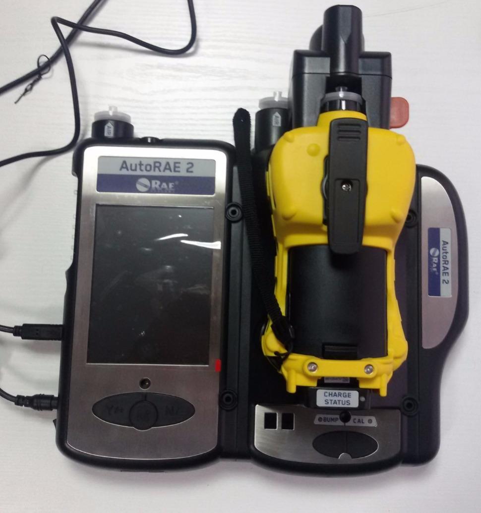 Φορητός ανιχνευτής 4 αερίων/βάση