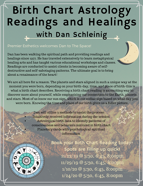 Readings and Healings with Dan Schleinig