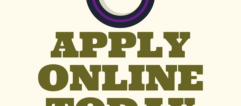 Apply Online Today Graphic