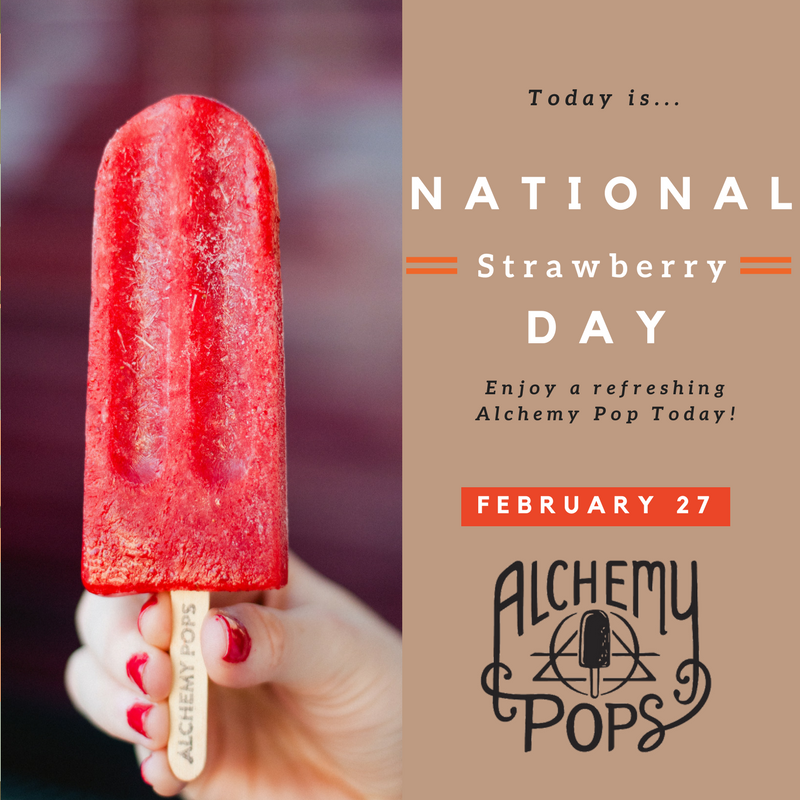 National Strawberry Day Feb 27th
