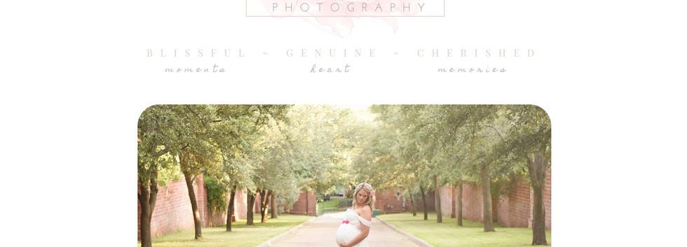 Erin Kaifetz Photography Website Home Page