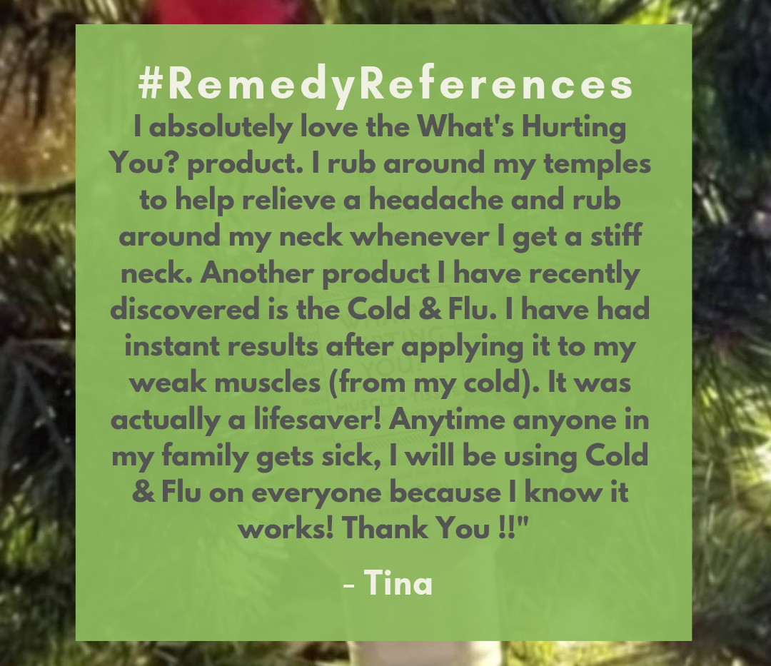 #RemedyReferences - Tina