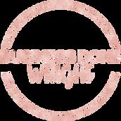 BDW logo Rose Gold Glitter.png