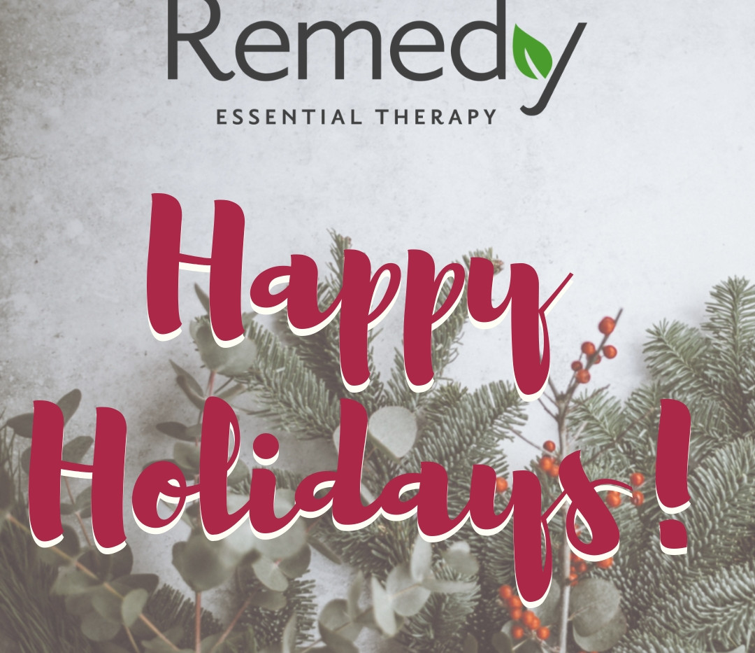 Remedy Oils Holidays 2018