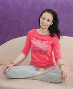 """Сбитнева Лариса Валерьевна, преподаватель по детской йоге в детском центре """"У Лукоморья"""" на Профсоюзной"""