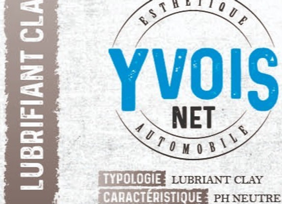 Yvois net – Lubrifiant clay