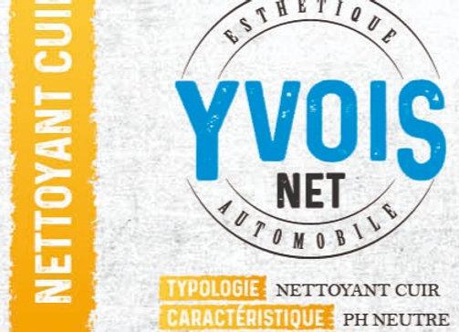 Yvois net – Nettoyant cuir