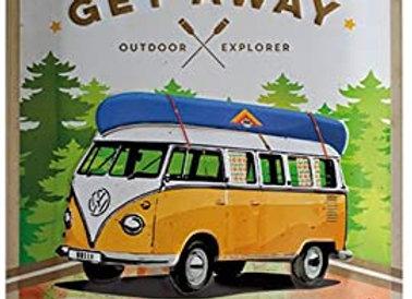 Nostalgic art - VW T1 get away