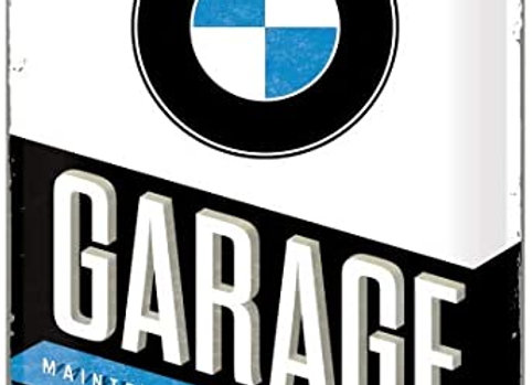 Nostalgic art - BMW garage
