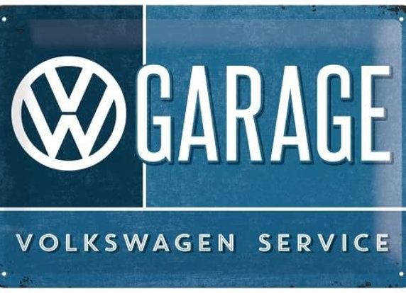 Nostalgic art - VW garage