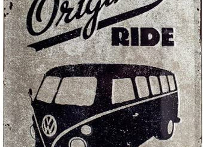 Nostalgic art - VW T1 ride