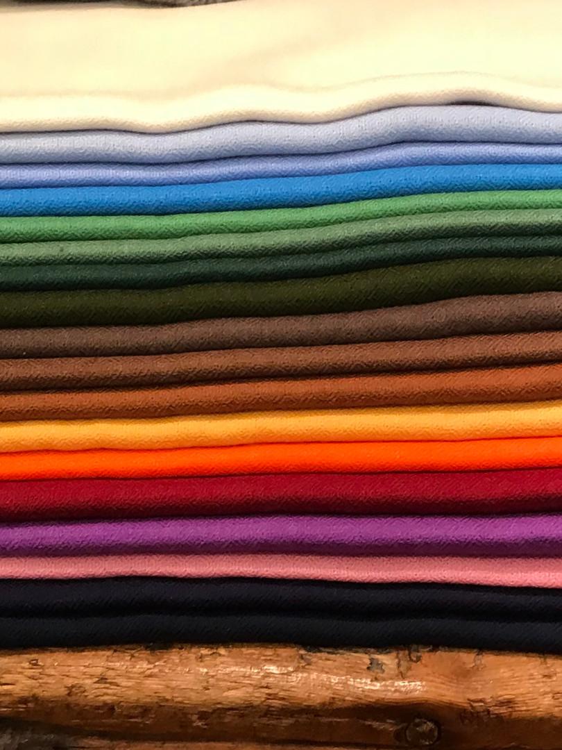 Uni Schals, Wolle Seide 65.-