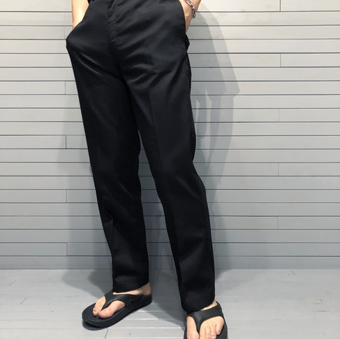 STABILIZER GNZ  lot.0-34OX wide leg trousers