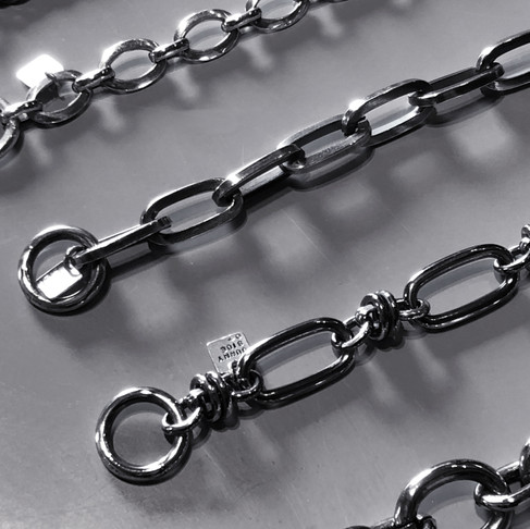 "on the sunny side of the street ""Silver Chain Bracelet"""