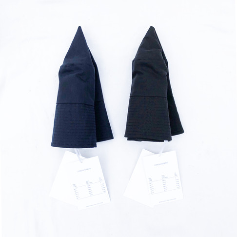 """COMESANDGOES """"HIGH COUNT RUBBER CLOTH HAT"""""""