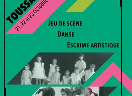 Stage enfants vacances de La Toussaint