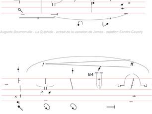 Escrime Artistique Art technico-corporel - L'écriture du Mouvement