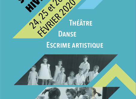 Stage d'Hiver enfants de 4 à 17 ans Bordeaux