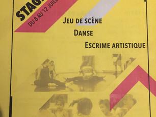 Stage Danse-Jeu de Scène-Escrime Artistique Bordeaux