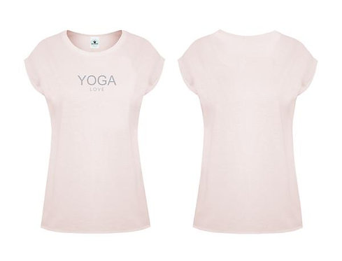Damen Oversize T-Shirt Yoga Love