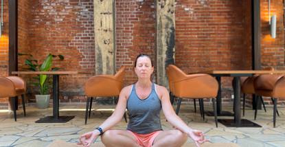 Meditations Haltung 🧘🏻♀️
