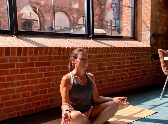 Meditations Haltung