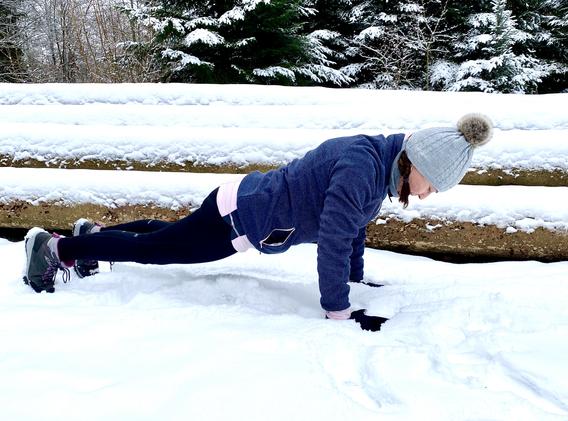 Yoga Liegestütz