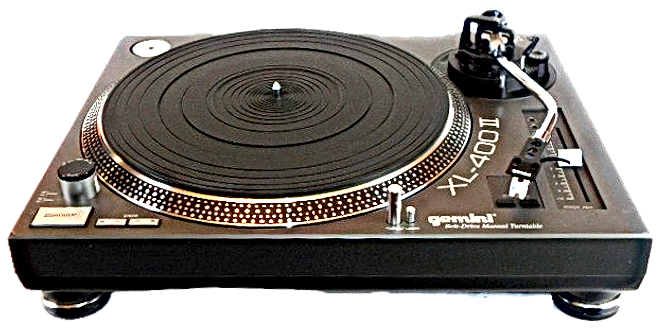 Gemini XL-400/2 Turntable