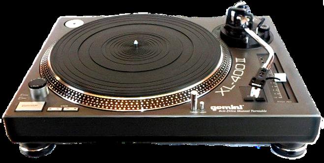 Gemini XL-400/2 Turntable