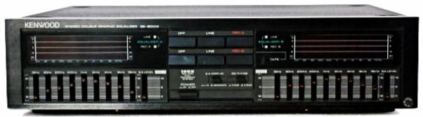 Kenwood GE-900W Equaliser
