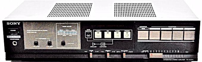 Sony TA-AX205 Amplifier