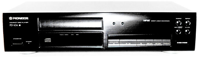 Pioneer PD-106 CD Player