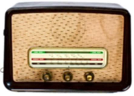 HMV Valve Radio