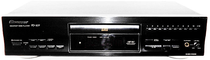 Pioneer PD-207 CD Player
