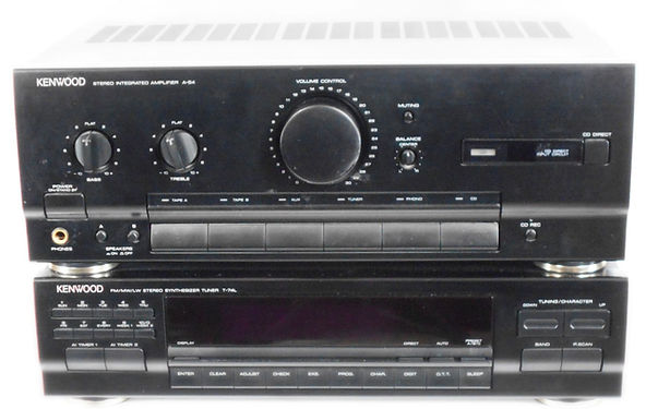 Kenwood A-54/T-74 Amp & Tuner