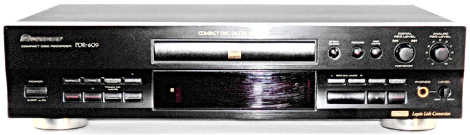 Pioneer PDR-609 CD Recorder