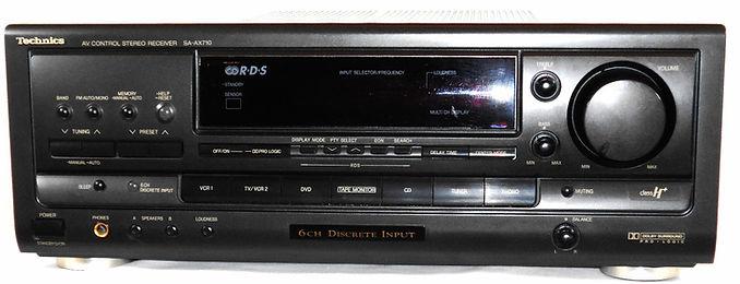 Technics SA-AX710 Receiver