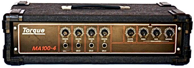 Torque MA100-4 PA Amplifier