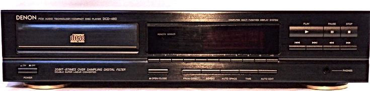 Denon DCD-480 CD Player