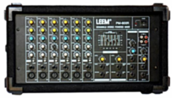 LEEM PM-602R Amplifier Mixer