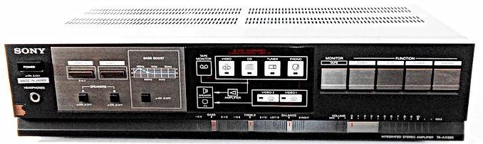 Sony TA-AX320 Amplifier