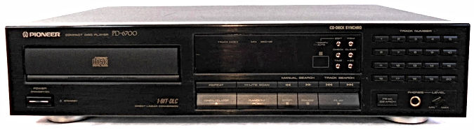 Pioneer PD-6700 CD Player