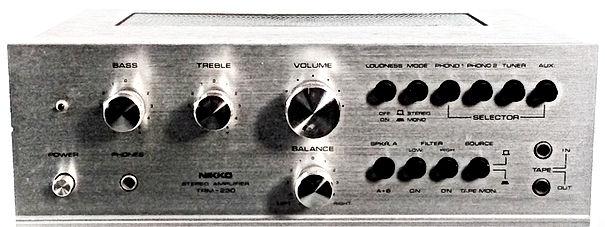 Nikko TRM-230 Amplifier