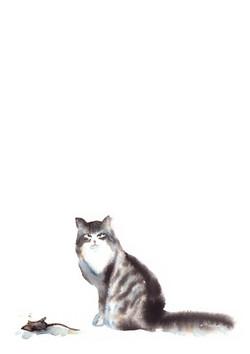 Беспризорная кошка Борис Житков