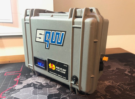 10S4P Lithium-Ion Battery Box - 42V, 60A cont, 12,000mAh