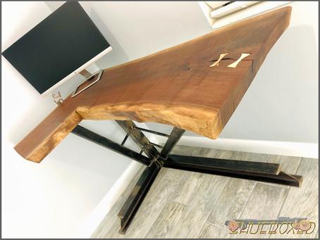 Live Edge Black Walnut Design/Build Desk