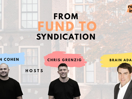 Ep 159: From Fund to Syndication with Brian Adams