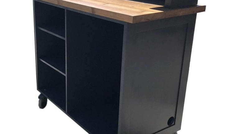 Rodborough Mobile Bar 1300x650x1300